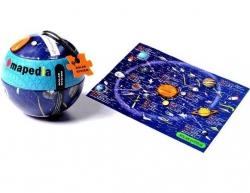 """Пазл в металлическом шаре """"Солнечная система"""", 100 элементов"""