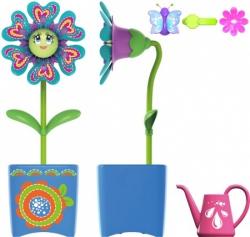 Волшебный цветок с заколкой и волшебным жучком