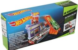 Hot Wheels Хот Вилс Гоночный трек Супер-мастерская