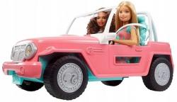 Барби в джипе