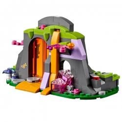 Конструктор Пещера с лавой дракона Огня Lego Elves 41074