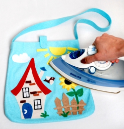Стигис-аппликация «Детская сумка»