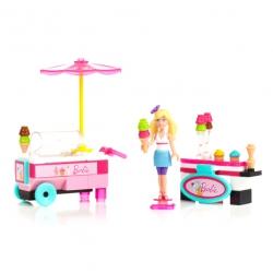 """Конструктор """"Тележка с мороженым"""" из серии Barbie, Mega Bloks"""