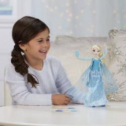 Кукла Эльза с летающими снежинками Снежная Сила