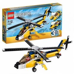 """Конструктор """"Жёлтый скоростной вертолет"""" Lego Creator 31023"""