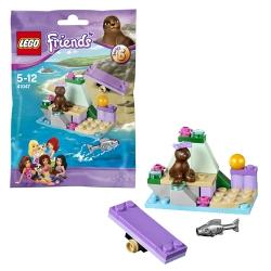 """Конструктор """"Скала тюленя"""" Lego Friends"""