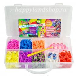 Набор резинок для плетения браслетов из резинок Band 1000