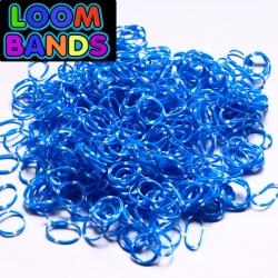 Полосатые резиночки сине-белые (600шт)