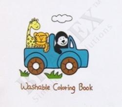 """Многоразовая книжка-раскраска """"Джунгли"""" Bradex"""