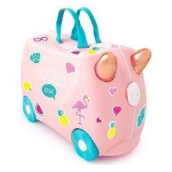 Детский чемодан на колесах Trunki  Фламинго Флосси