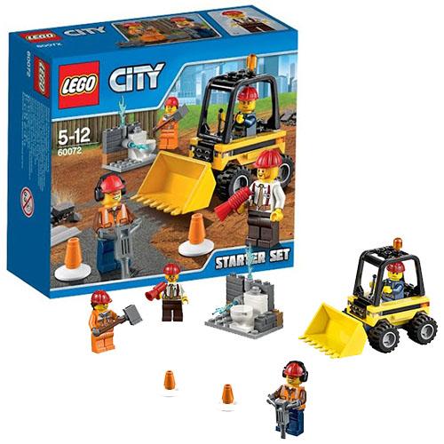 """""""Строительная команда для начинающих"""" Lego City"""