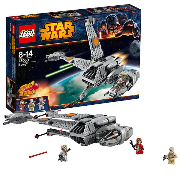 """Конструктор """"Истребитель B-Wing""""Lego Star Wars 75050"""