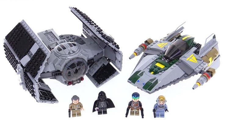 Lego Star Wars Усовершенствованный истребитель СИД Дарта Вейдера 75150