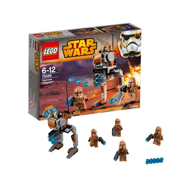"""Конструктор """"Пехотинцы планеты Джеонозис"""" Lego Star Wars 75089"""