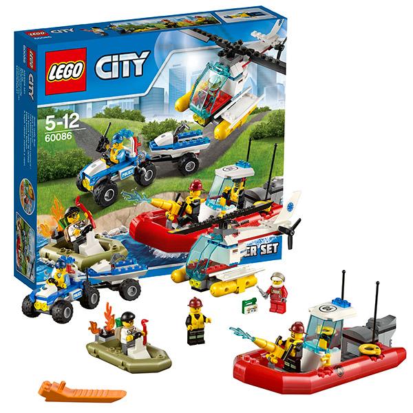 """Конструктор """"Экскаватор и грузовик"""" Lego City 60086"""