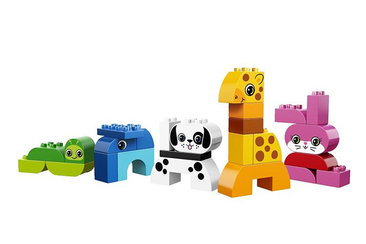 Конструктор LEGO Duplo - Весёлые зверюшки 10573