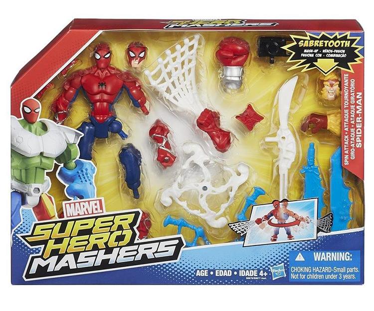 Улучшенная разборная фигурка Марвел Человек-паук