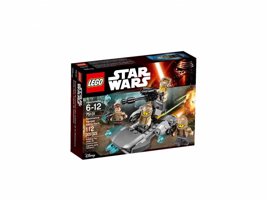 Лего Star Wars 75131: Боевой набор Сопротивления