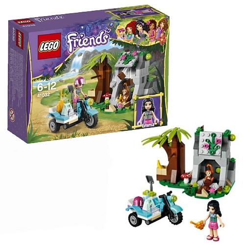 Конструктор Джунгли: Мотоцикл скорой помощи Lego Friends 41032