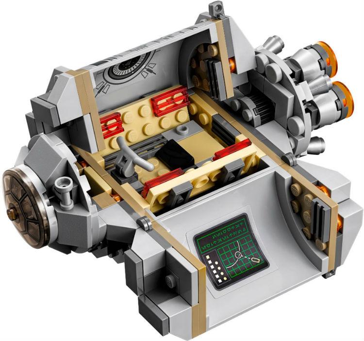 Лего Star Wars 75136: Спасательная капсула дроидов