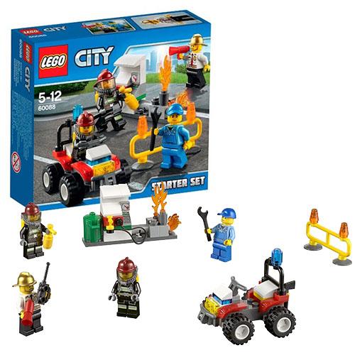 Конструктор Lego City 60088 Лего Город Пожарная охрана