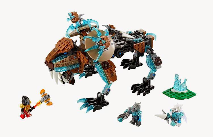 Лего 70143 Саблезубый шагающий робот Сэра Фангара
