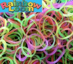 """Резиночки Rainbow Loom """"Тутти-фрутти микс""""  (600шт)"""
