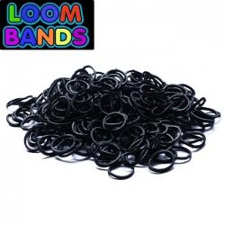 Черные резиночки Loom Bands (600шт)