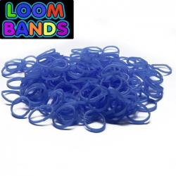 Синие резиночки Loom Bands (600 шт)
