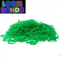 Зеленые резиночки Loom Bands (600шт)