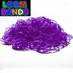 Фиолетовые  резиночки Loom Bands (600шт)