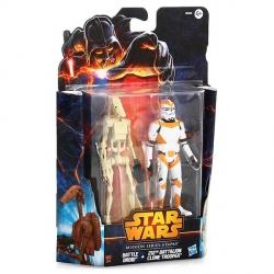 Фигурки Star Wars Hasbro Солдат 212-го батальона и Боевой дроид.
