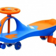 """Детская машинка """"Бибикар Лягушонок"""" (BIBICAR) с полиуретановыми   колесами (BRADEX)"""