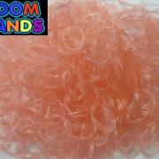 Персиковые полупрозрачные резиночки Loom Bands (600шт)