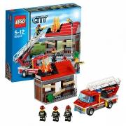 """Конструктор """"Тушение пожара"""" Lego City 60003"""