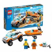 """Конструктор """"Внедорожник и катер водолазов"""" Lego City 60058"""
