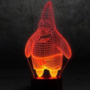 Пластина для 3D Светильника