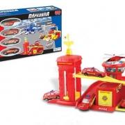 """Игровой набор """"Гараж-парковка"""" - Пожарная станция"""