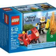 Пожарный на мотоцикле (LEGO CITY) 60000