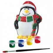 Детская копилка-раскраска Пингвин