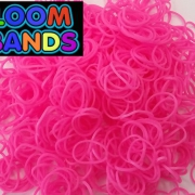 Ярко-розовые резиночки Loom Bands (600шт)