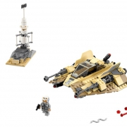 LEGO STAR WARS 75204 Sandspeeder Песчаный спидер