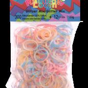 """Резиночки Rainbow Loom """"блестящий телесный""""  (300шт)"""