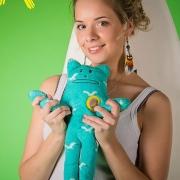 "Игрушка Крафтхолик кот ""Корат"" Craftholic SURFER KORAT S-size"