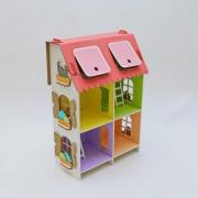 """Кукольный домик """"Четыре комнаты"""""""