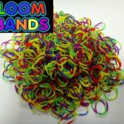 Двухцветный микс резиночки Loom Bands (600шт)