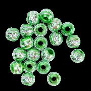 """Бусины """"зеленые"""" (20 шт.)"""