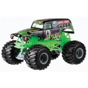 Hot Wheels Monster Jam Машинка Grave Digger цвет зеленый