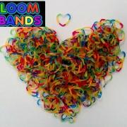 Резиночки в форме сердечек Loom Bands (300шт)