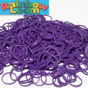 Фиолетовые резиночки Rainbow (600шт)